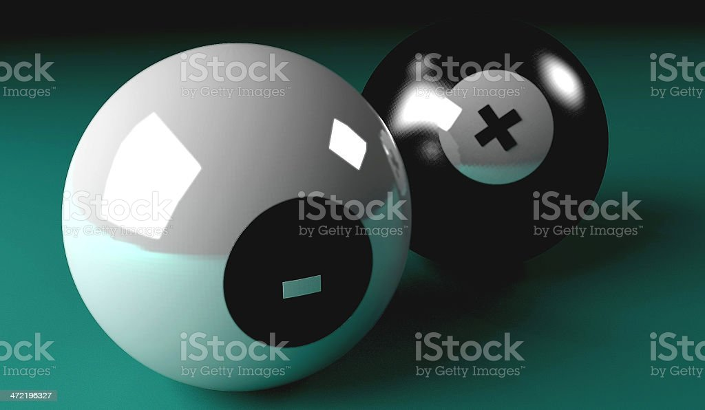 SnookerBalls stock photo