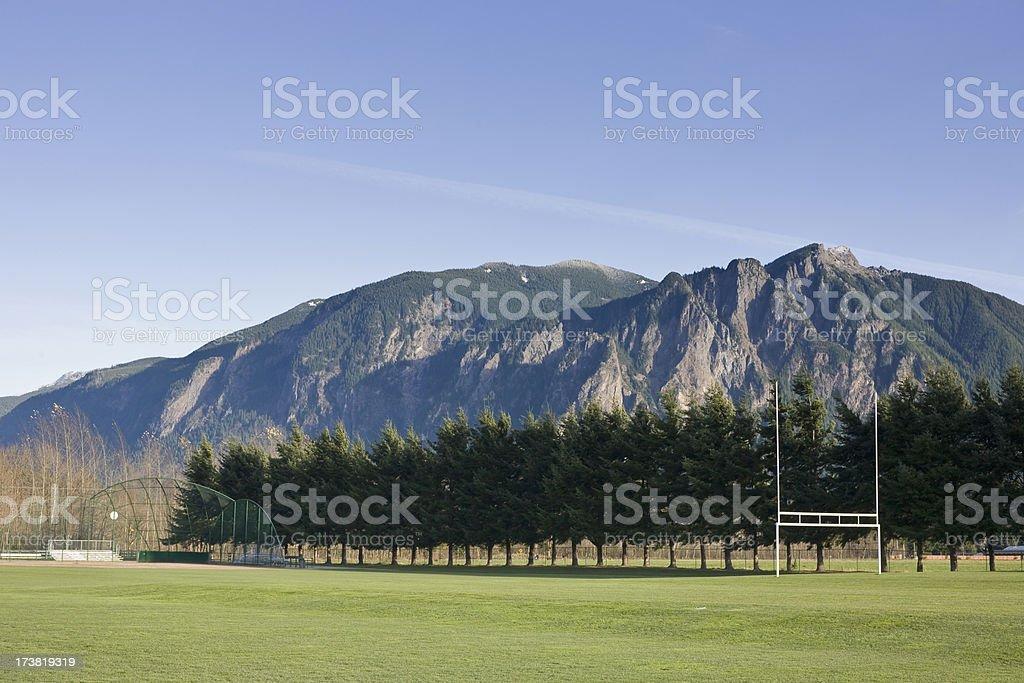 Snoqualmie Athletics stock photo