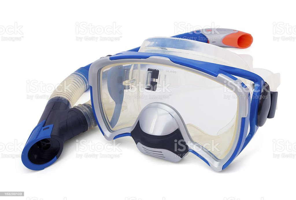 Snorkel and Diving Mask royalty-free stock photo