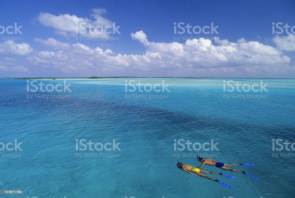 Snorkeling Adventure royalty-free stock photo