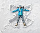 Snow Angel fun