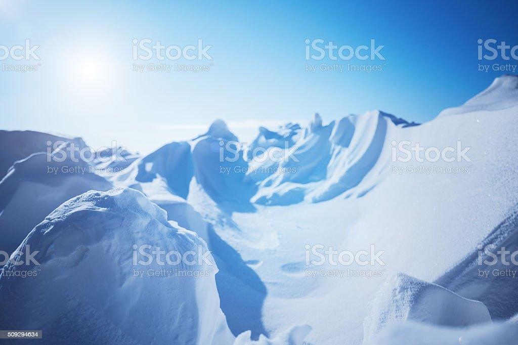 snow background landscape stock photo