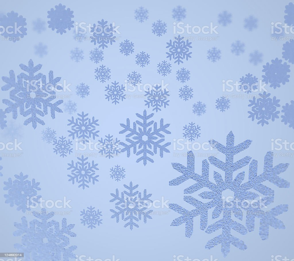 Snow Background stock photo