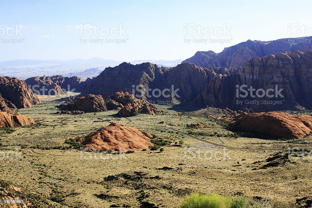 Snow Canyon State Park stock photo