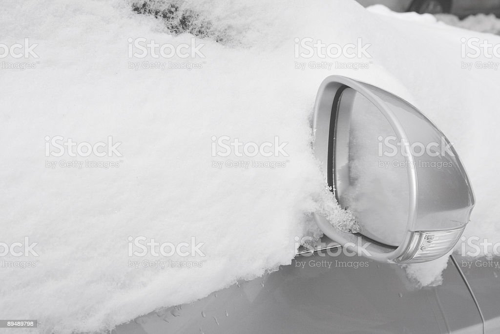 Snow Cover stock photo