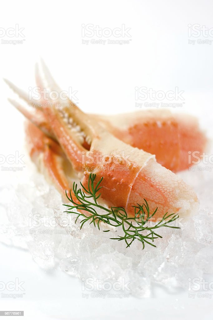 Snow Crab Claws royalty-free stock photo