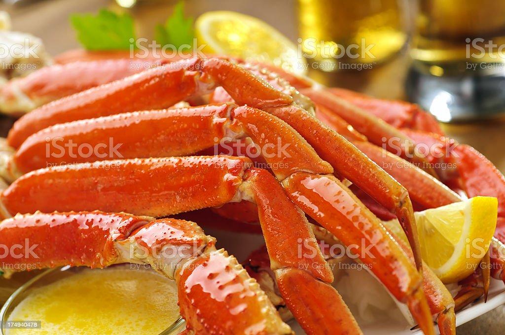 Snow Crab Legs stock photo