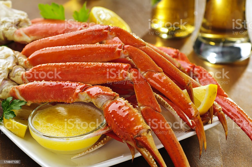 Snow Crab Legs royalty-free stock photo