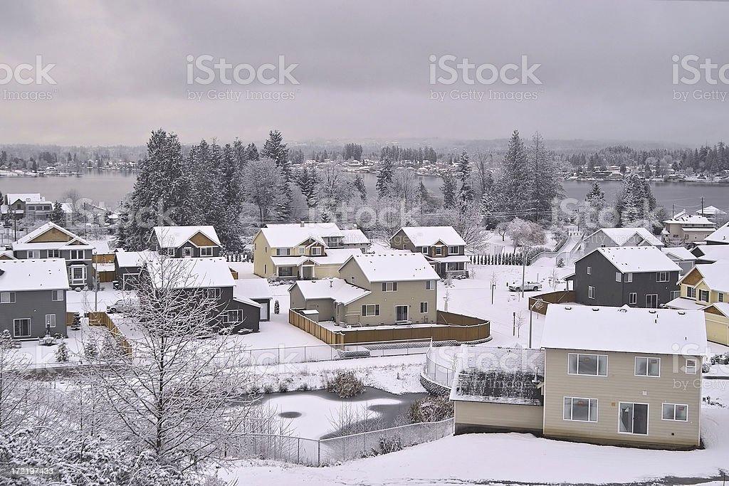 Snow Day royalty-free stock photo