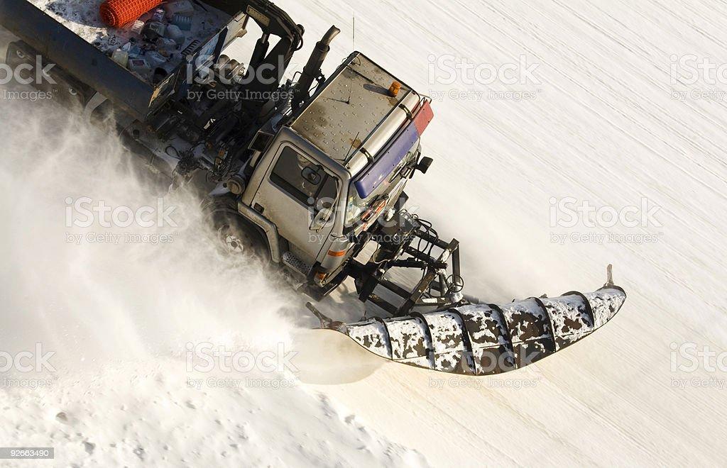 snow doser royalty-free stock photo