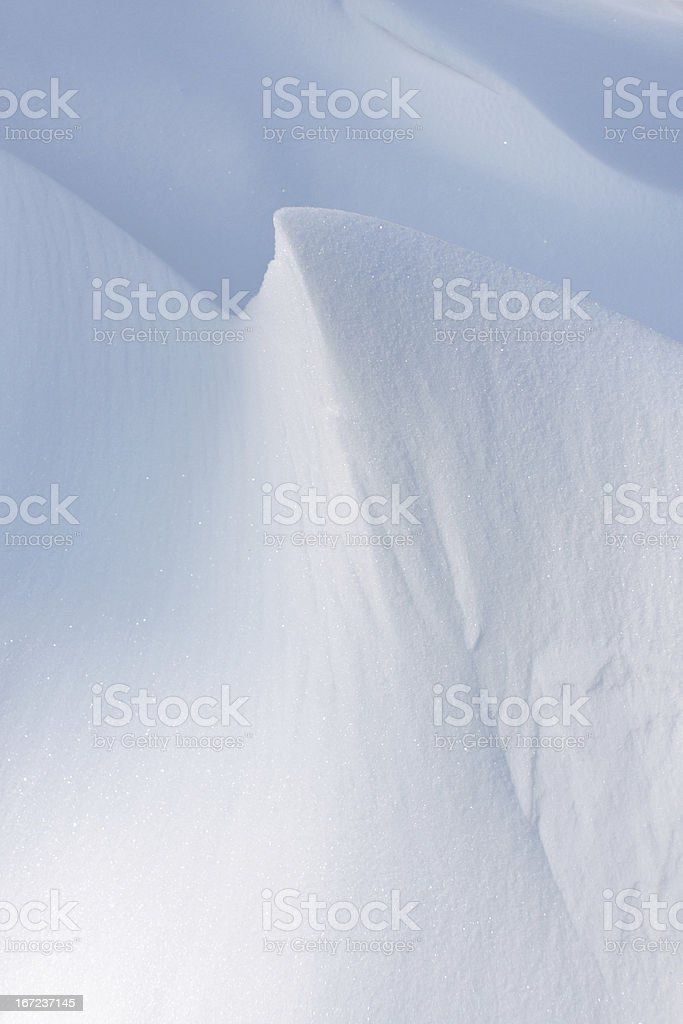 Snow dune background royalty-free stock photo