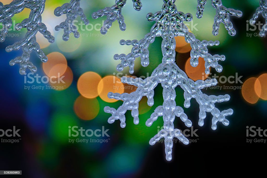 Snow Flakes Decoration stock photo