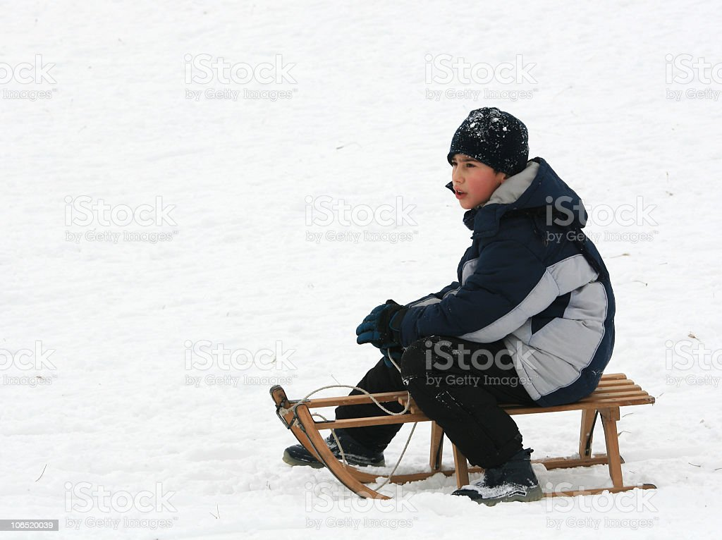 Snow game royalty-free stock photo