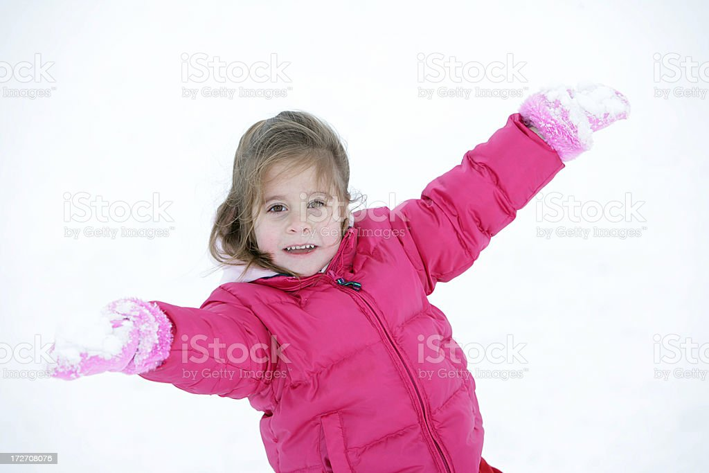 Snow Girl royalty-free stock photo