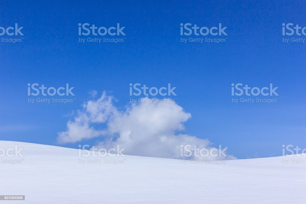 Snow Hill stock photo