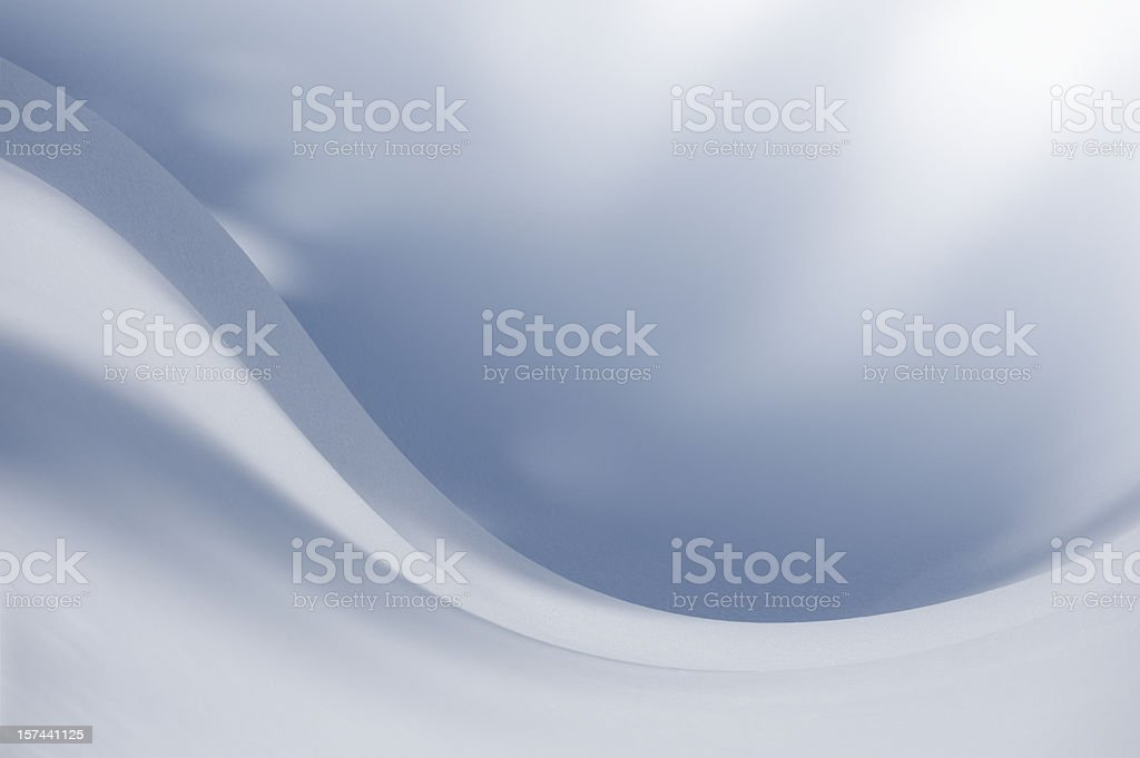 Snow in Motion (image size XXL) stock photo