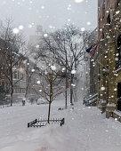 Snow in New York City