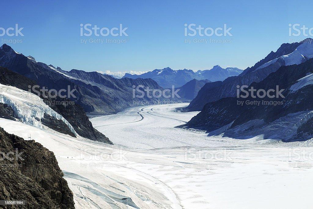 Snow Mountain and Glacier - XLarge royalty-free stock photo