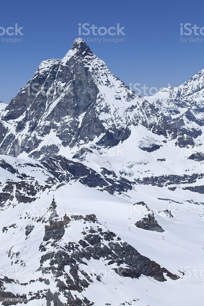 Snow Mountain royalty-free stock photo