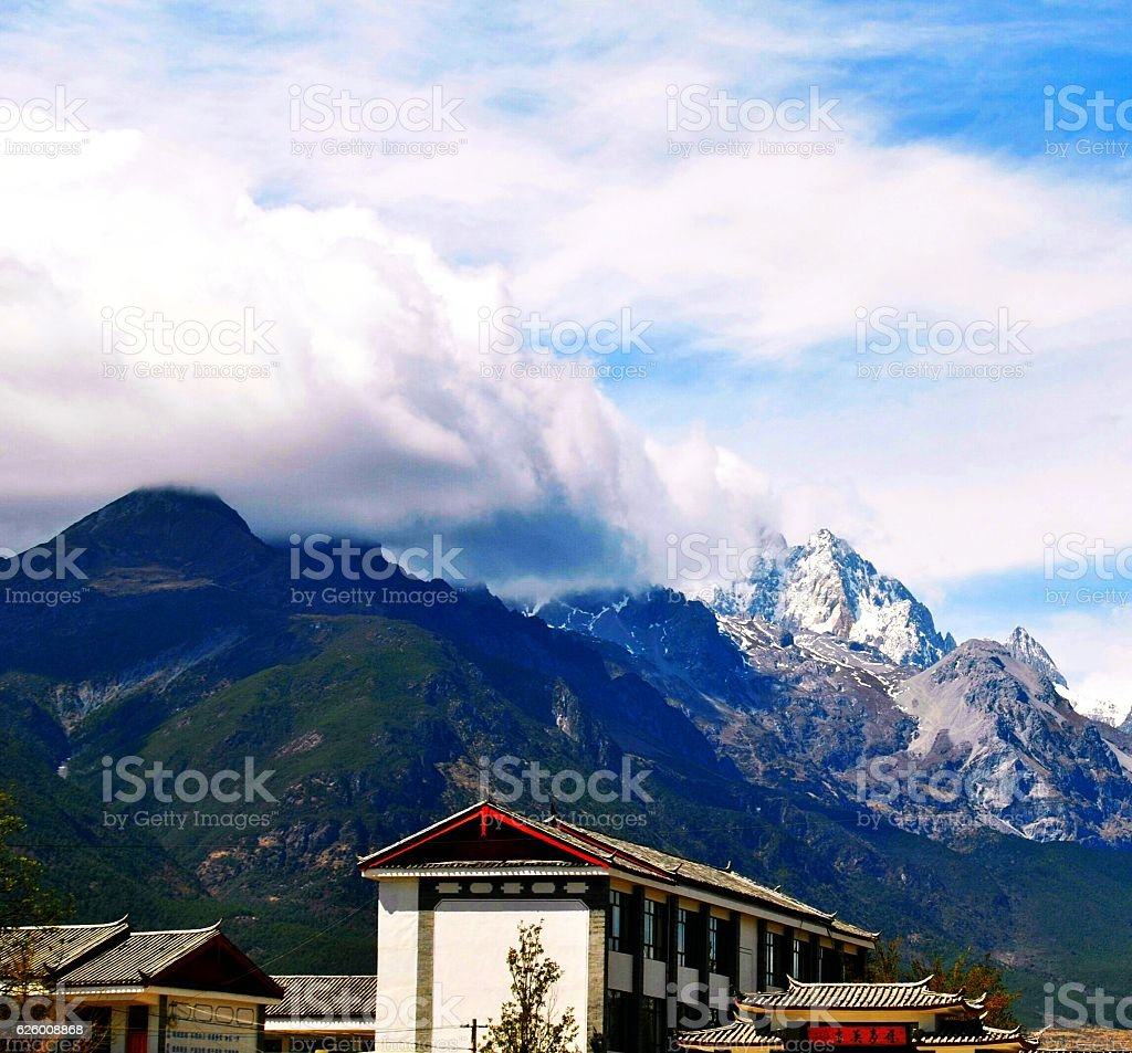 Neve Mountain  foto stock royalty-free
