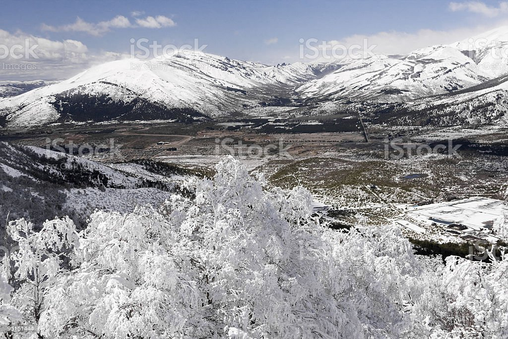 Snow Overview royalty-free stock photo