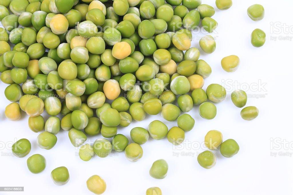 Snow pea stock photo