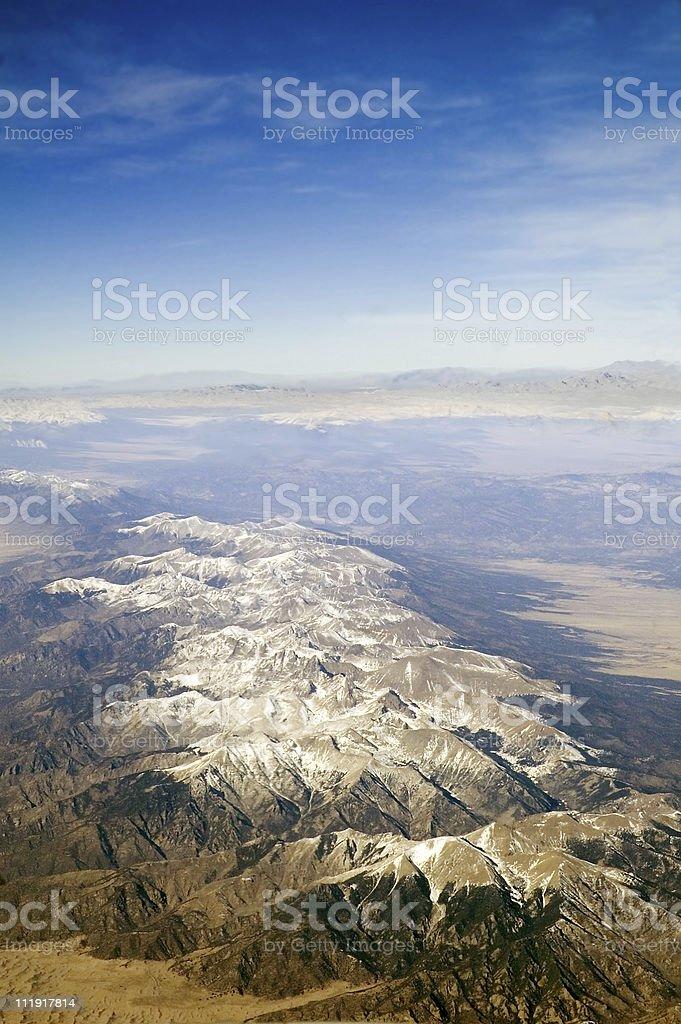 Snow Peaks royalty-free stock photo