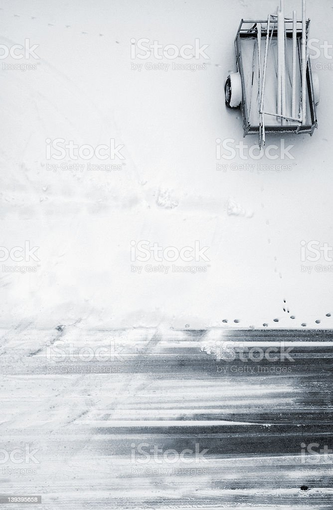 Snow* stock photo