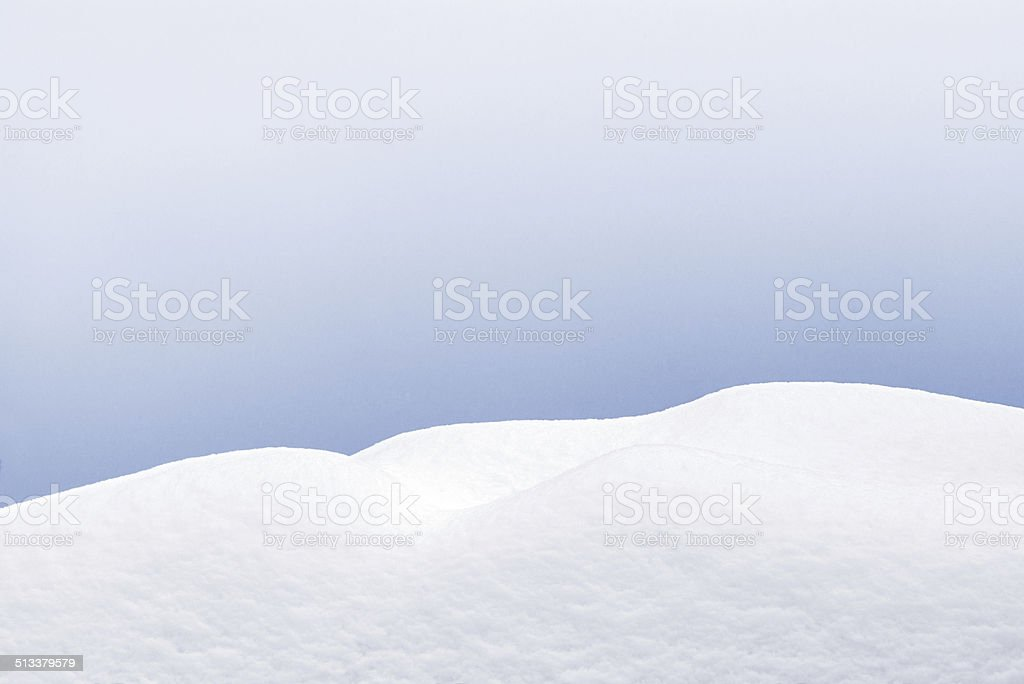 Snow stock photo