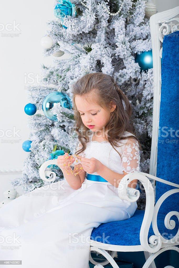 Snow Princess stock photo