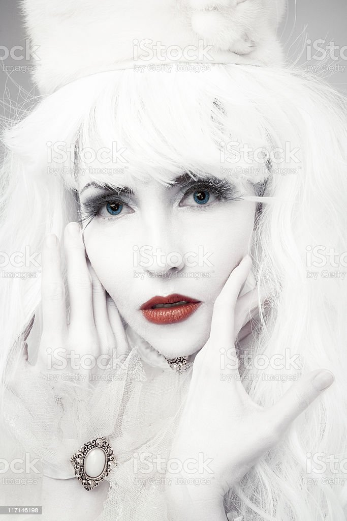 Snow Queen royalty-free stock photo