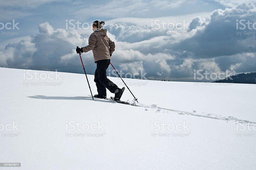 Snow Rackets royalty-free stock photo
