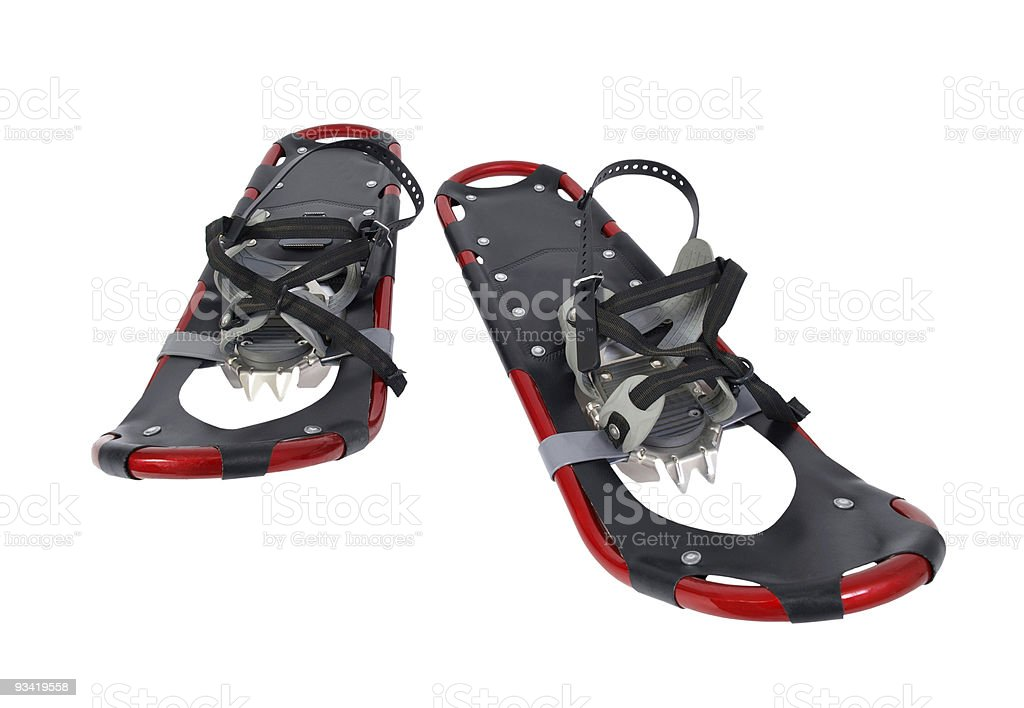 Snow Shoes royalty-free stock photo