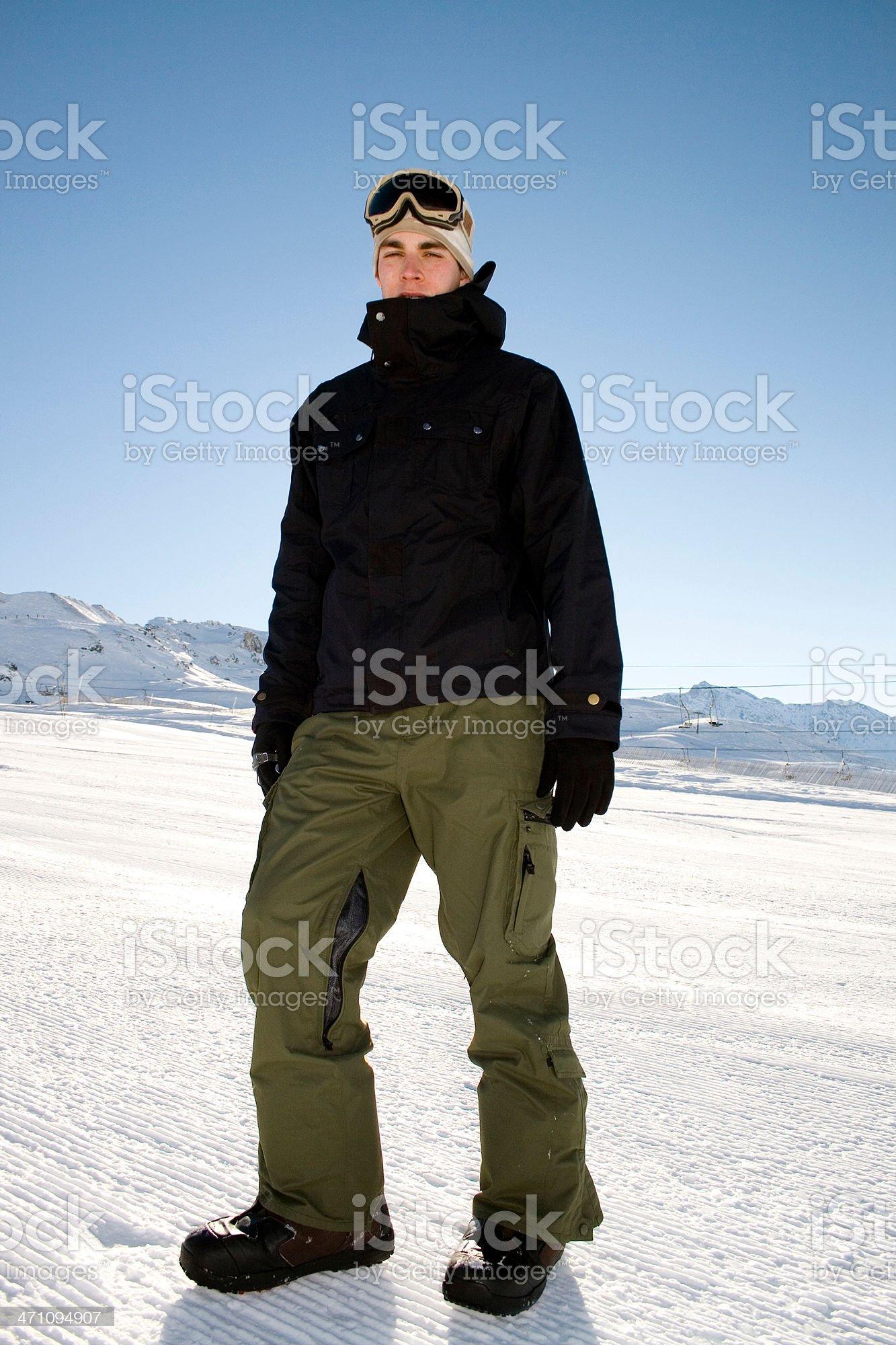 Snow Style royalty-free stock photo