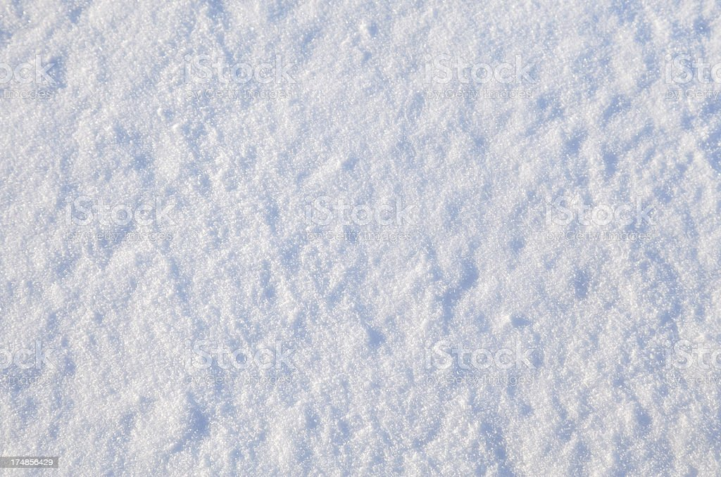 Snow Surface Texture High Key royalty-free stock photo
