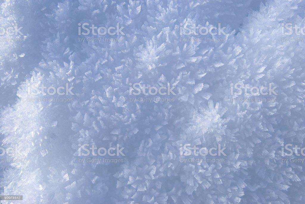 Snow texture II royalty-free stock photo