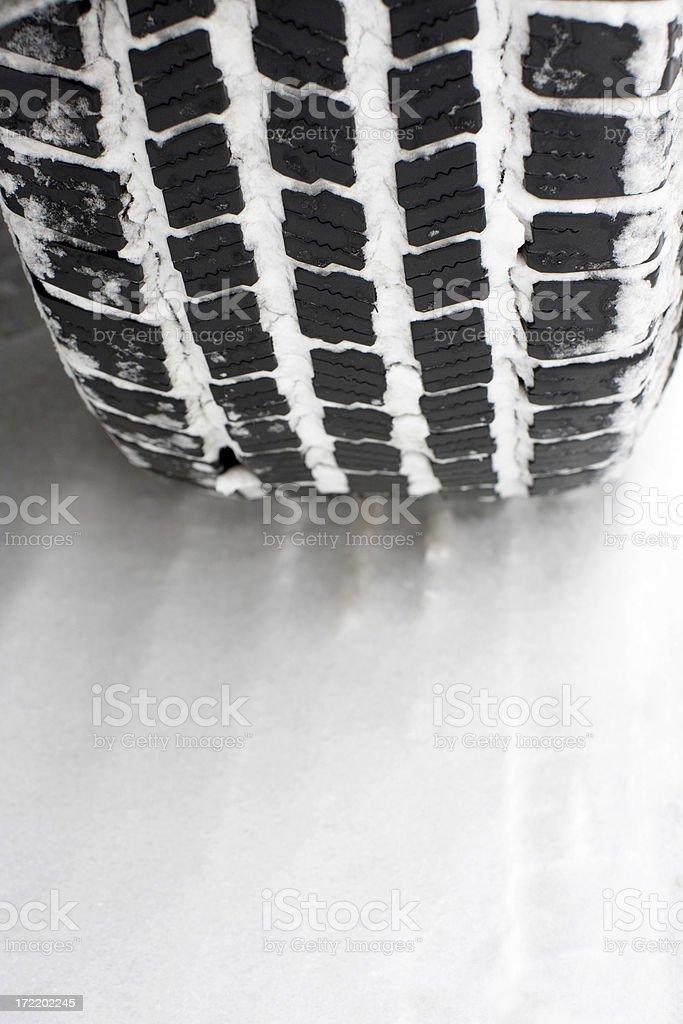 Snow Tire royalty-free stock photo