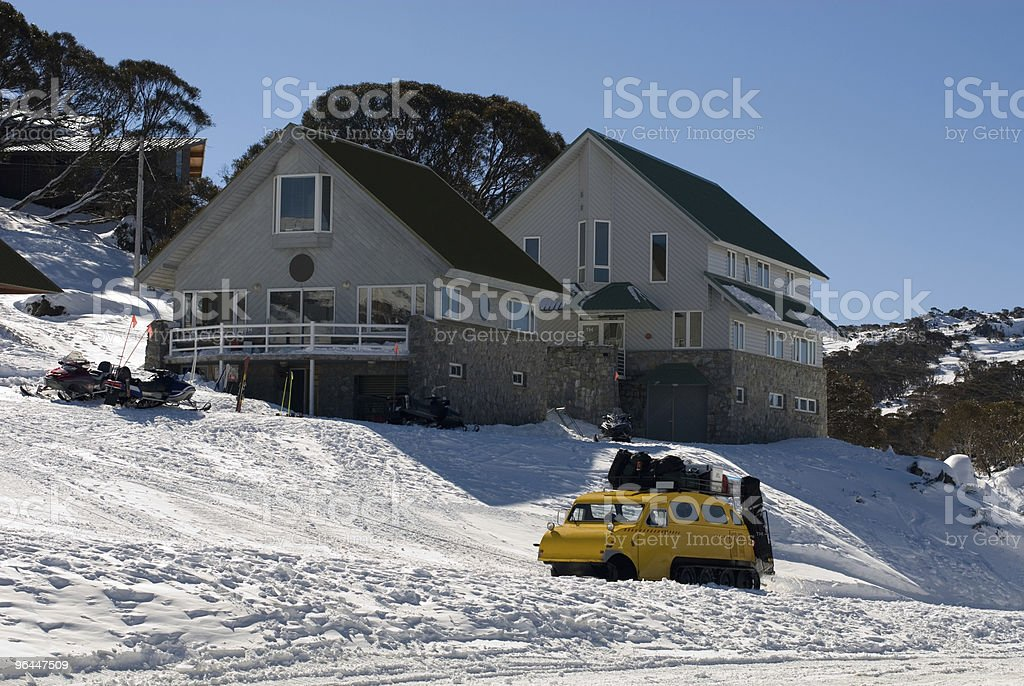 Snow Transport royalty-free stock photo