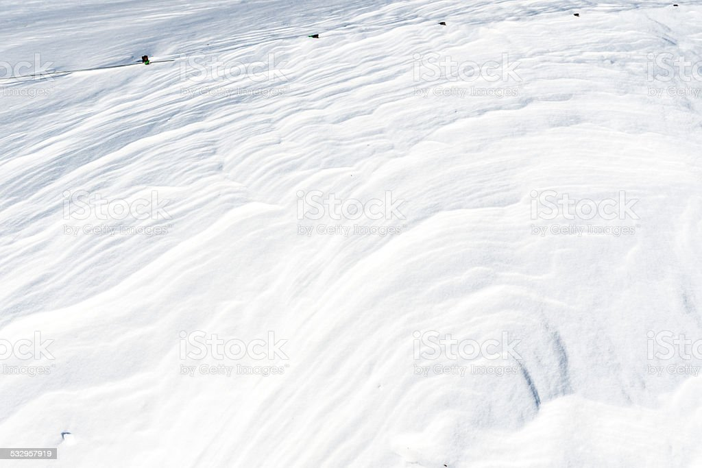 Śnieg Fala zbiór zdjęć royalty-free
