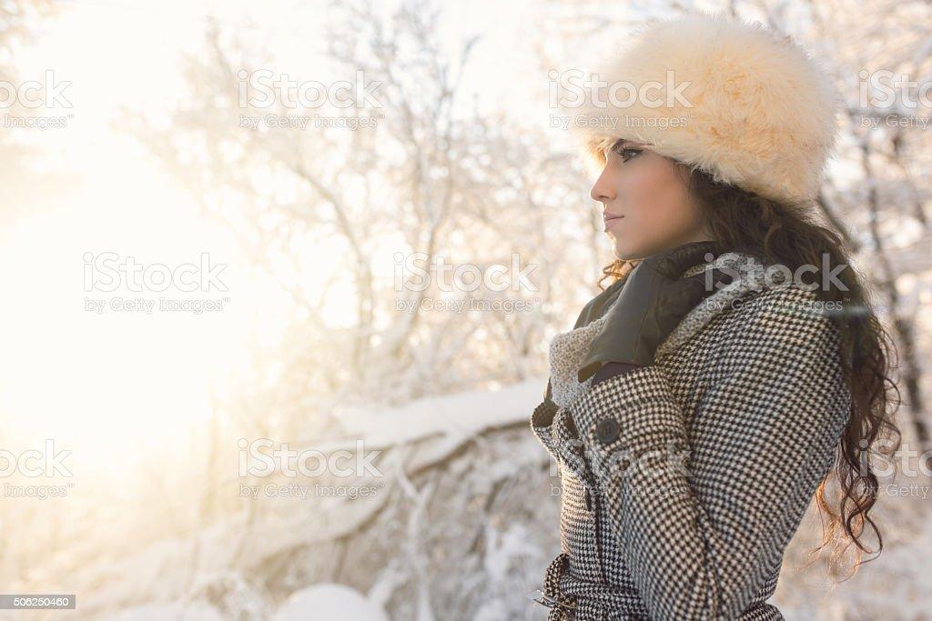 Snow White stock photo