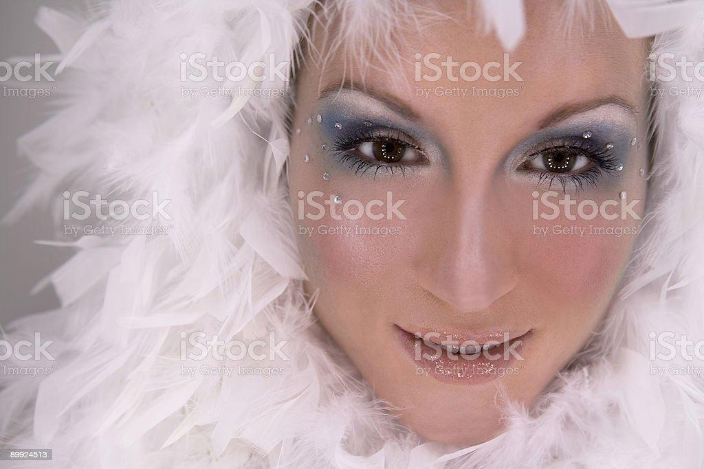 snow white princess royalty-free stock photo