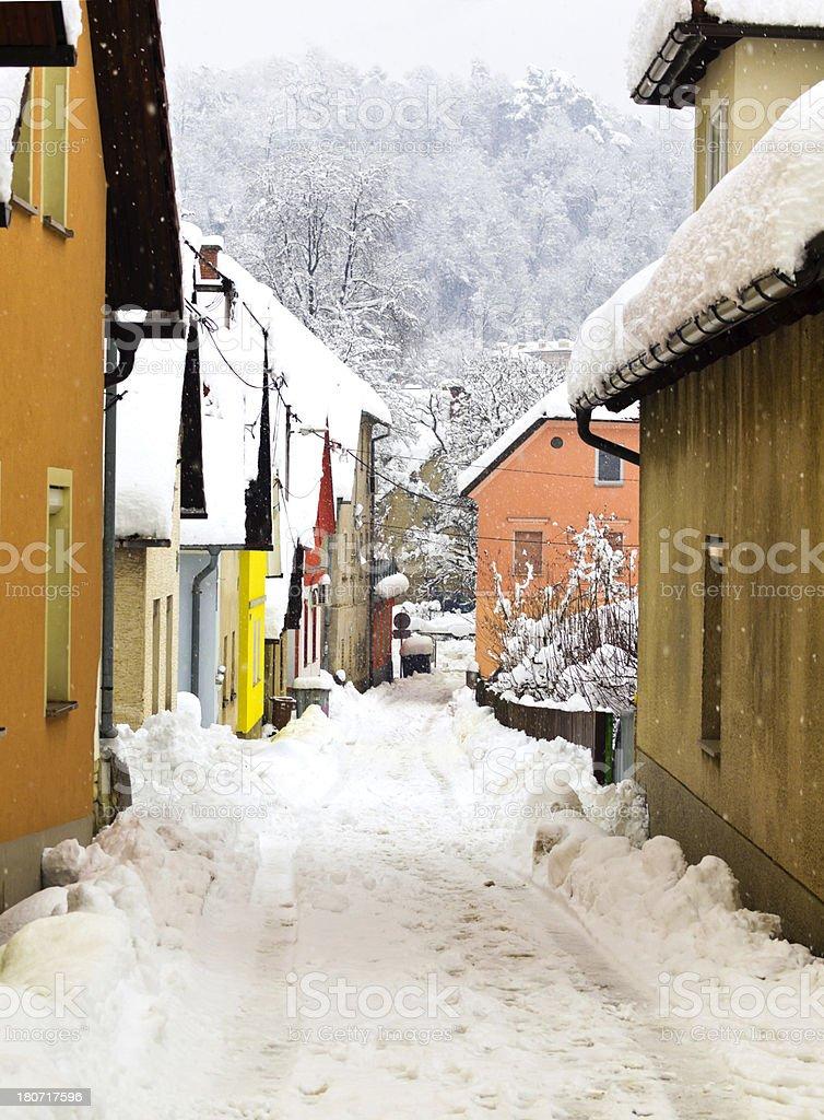 Snow Wonderland royalty-free stock photo