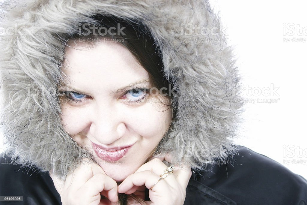 Snowball Fight? royalty-free stock photo