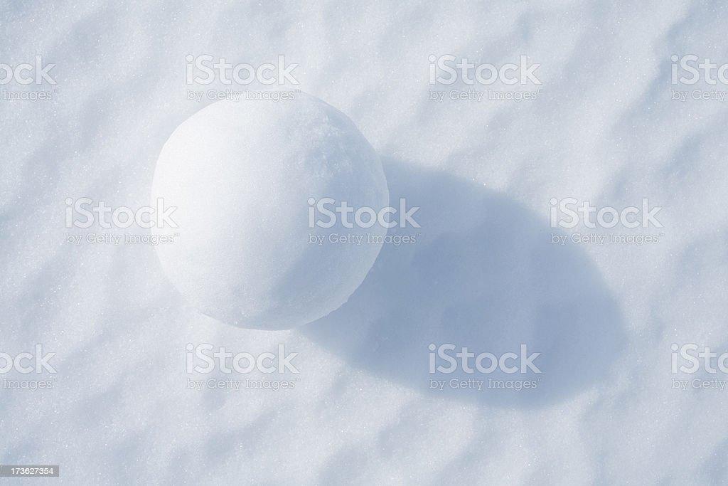 Snowball stock photo
