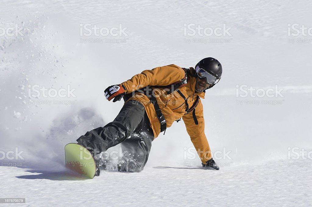 Snowboard Man royalty-free stock photo