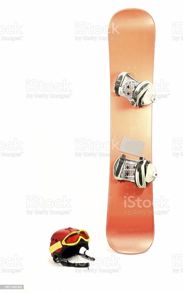 Snowboard #4 stock photo