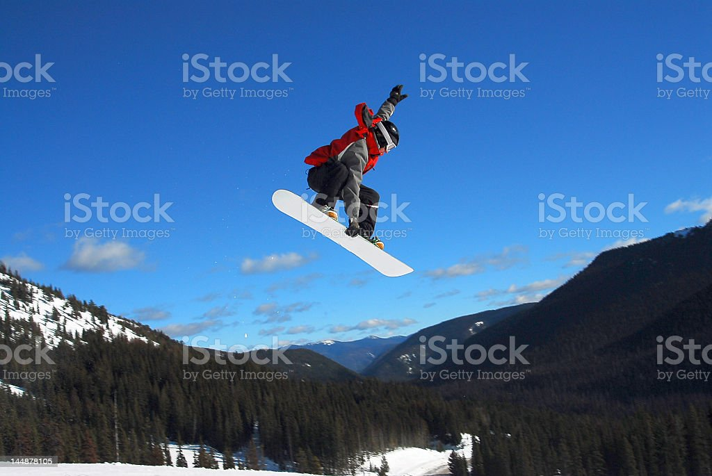 Snowboarder 1 royalty-free stock photo