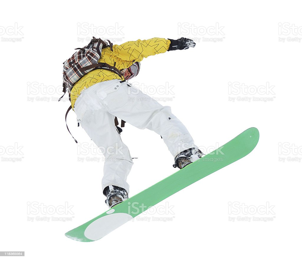 snowboarder royalty-free stock photo