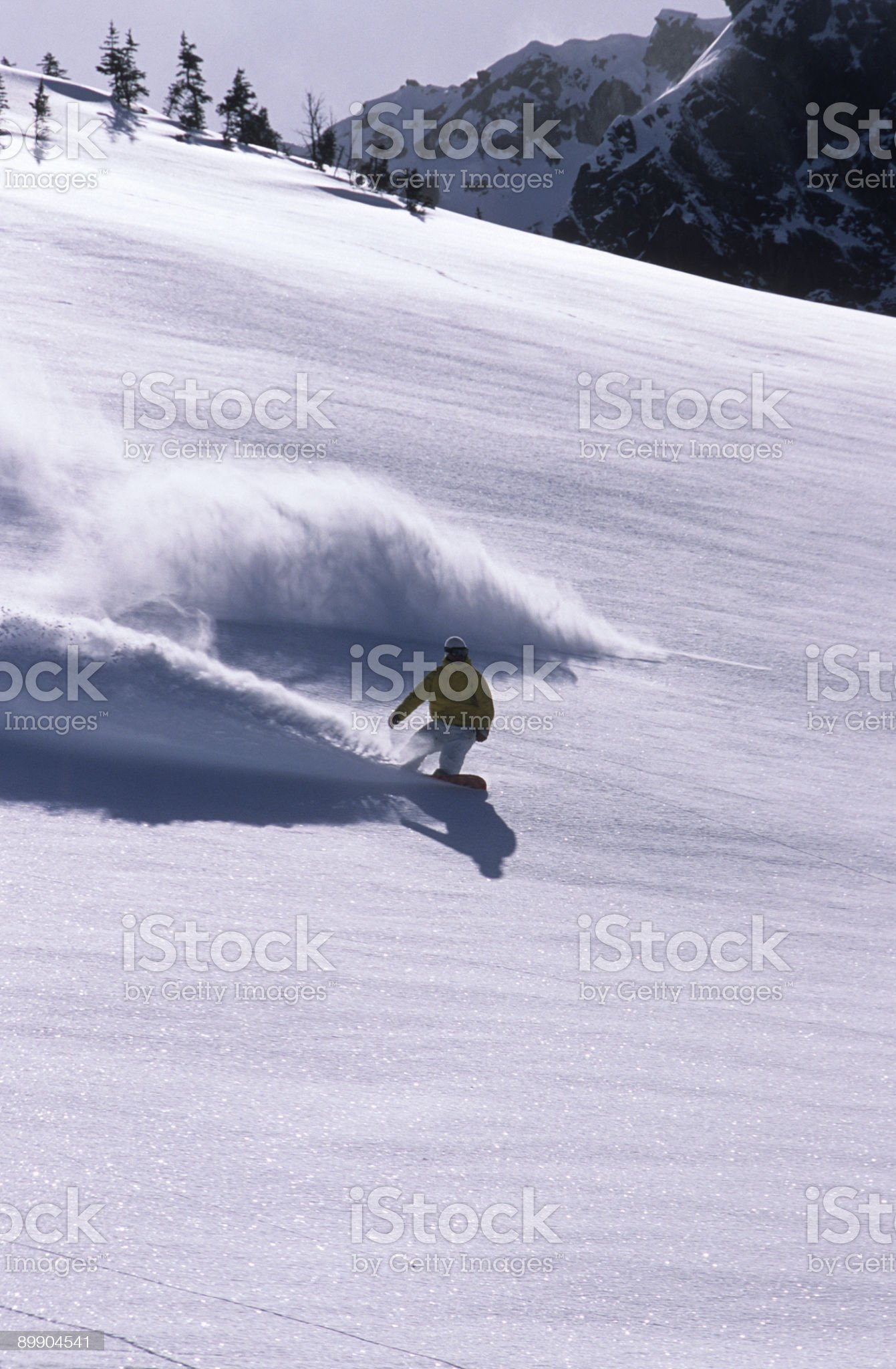 Snowboarding II royalty-free stock photo