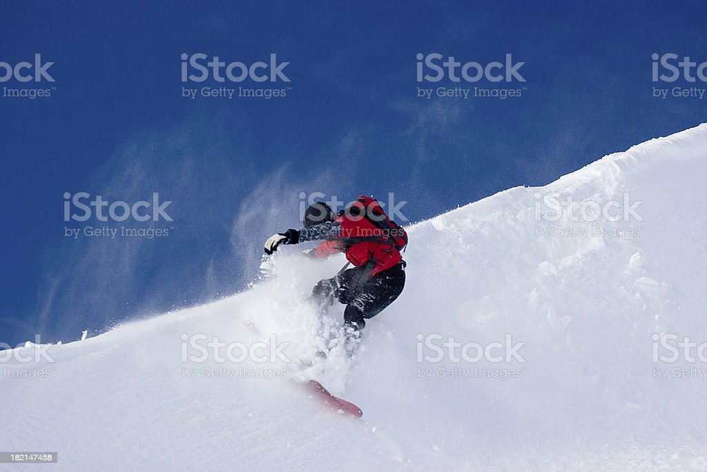 Snowboarding #1 royalty-free stock photo